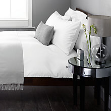 Buy John Lewis Pima Seersucker Stripe Bedding Online at johnlewis.com