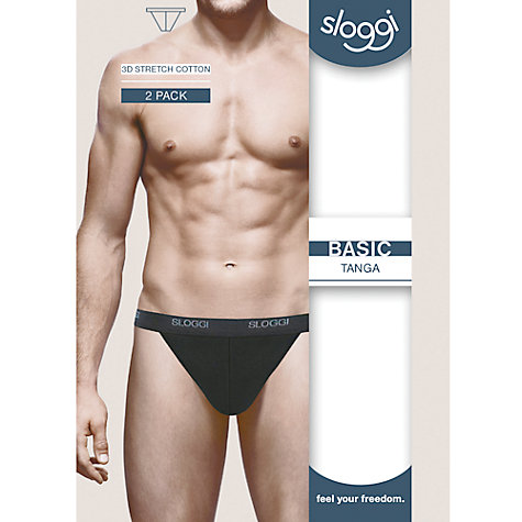 Buy Sloggi Mens Tanga Briefs Online at johnlewis.com
