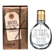 Buy Diesel Fuel For Life He Eau de Toilette Online at johnlewis.com