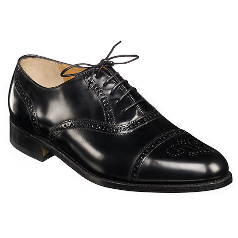 Buy Barker Alfred Lace Up Brogue Shoes Online at johnlewis.com