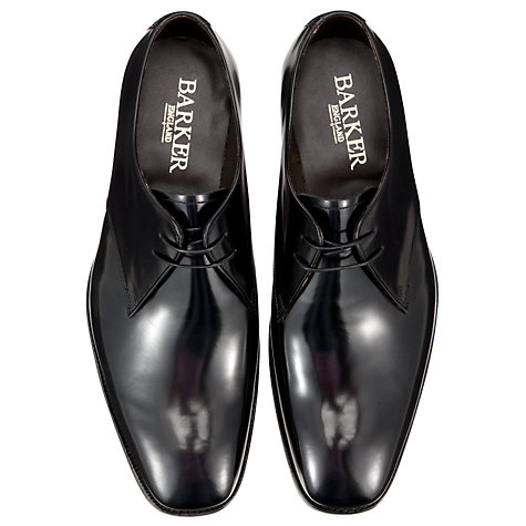 Buy Barker Dwight Goodyear Welt Derby Shoes, Black Online at johnlewis.com