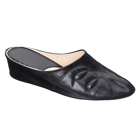 Buy John Lewis O-Tricia Leather Slippers Online at johnlewis.com