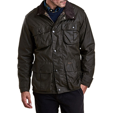 Buy Barbour Trooper Wax Jacket Online at johnlewis.com