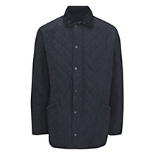 Buy Barbour Polarquilt Quilted Jacket, Blue Online at johnlewis.com
