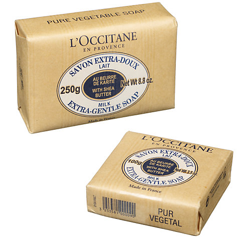 Buy L'Occitane Milk Shea Butter Soap Online at johnlewis.com