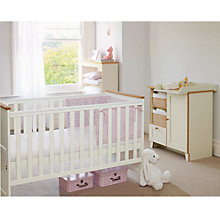Buy John Lewis Nouveau Nursery and Children's Furniture, Ivory Finish  Online at johnlewis.com