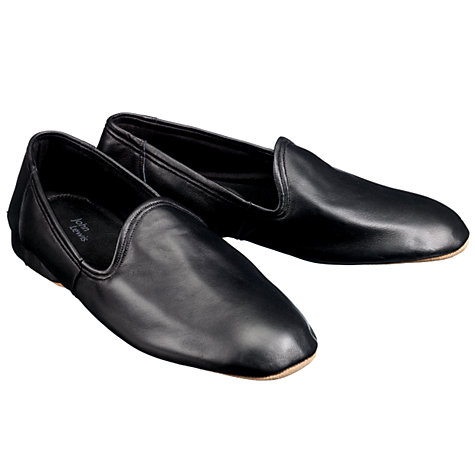 Buy John Lewis Seville II Leather Slippers Online at johnlewis.com