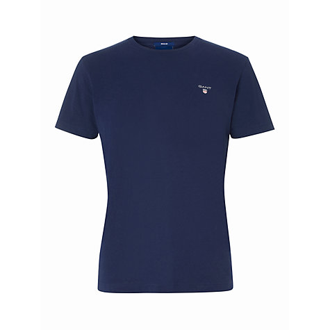 Buy Gant Crew Neck T-Shirt Online at johnlewis.com