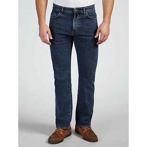 Buy Gant Denim Straight Jeans, Indigo Online at johnlewis.com
