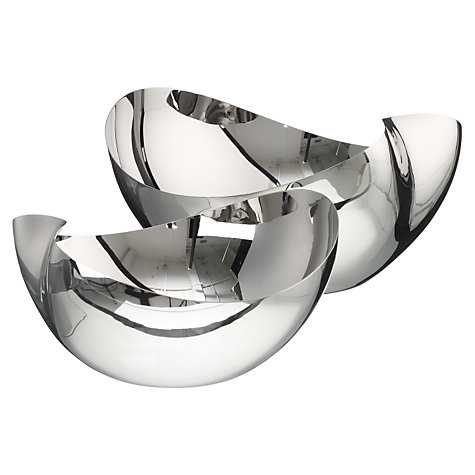 Buy Robert Welch Rushan Stainless Steel Bowls Online at johnlewis.com