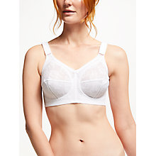 Buy Triumph Doreen Non Wired Bra, White Online at johnlewis.com