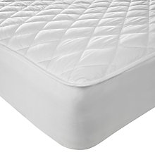 Buy John Lewis New Waterproof Quilted Mattress Protector, Depth 32cm Online at johnlewis.com