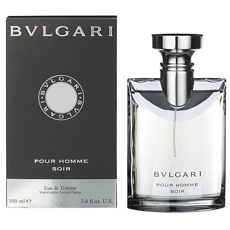 Buy Bvlgari Homme Soir Eau de Toilette, 100ml Online at johnlewis.com