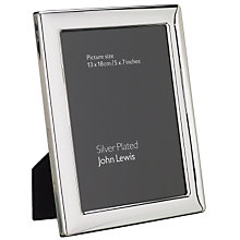 Buy John Lewis Outline Silver Plated Photo Frames Online at johnlewis.com