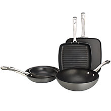 Buy John Lewis Hard Anodised Cookware Online at johnlewis.com