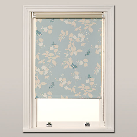 Buy John Lewis Butterfly Blossom Blackout Blinds, Blue Online at johnlewis.com