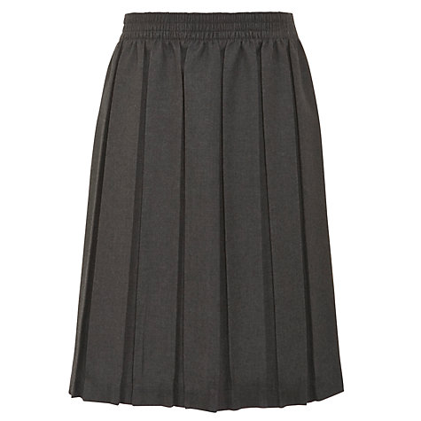 buy lewis pleated school skirt grey lewis