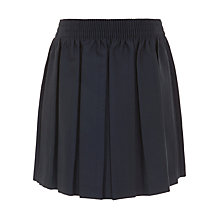Buy John Lewis Girls' Pleated School Skirt, Navy Online at johnlewis.com