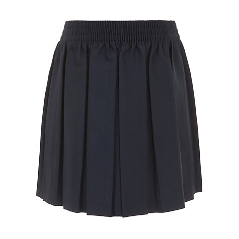 buy lewis pleated school skirt navy lewis