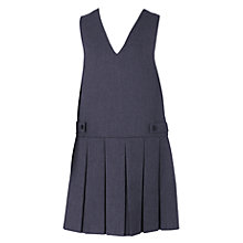 Buy John Lewis Girls' Box Pleat Tunic, Blue Online at johnlewis.com