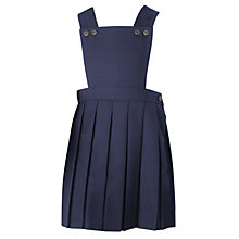 Buy John Lewis Girls' Bib Tunic, Navy blue Online at johnlewis.com