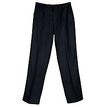Buy John Lewis Boys' Poly Viscose Trousers Online at johnlewis.com