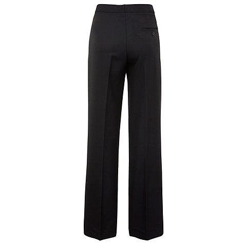 Buy John Lewis Boys' Polywool College Trousers, Black Online at johnlewis.com
