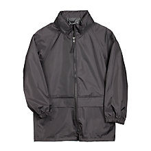 Buy John Lewis Unisex Rain Jacket, Black Online at johnlewis.com