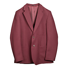 Buy John Lewis Boys' School Blazer, Maroon Online at johnlewis.com