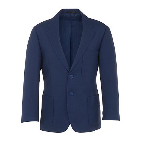 Buy John Lewis Boys' School Blazer, Royal Blue Online at johnlewis.com