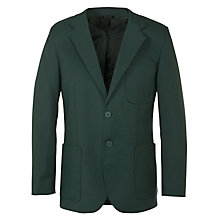 Buy John Lewis Boys' School Blazer, Bottle Green Online at johnlewis.com