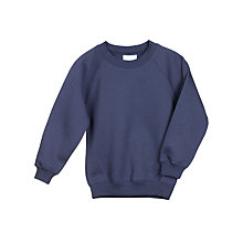 Buy John Lewis Sweatshirt, Navy Online at johnlewis.com