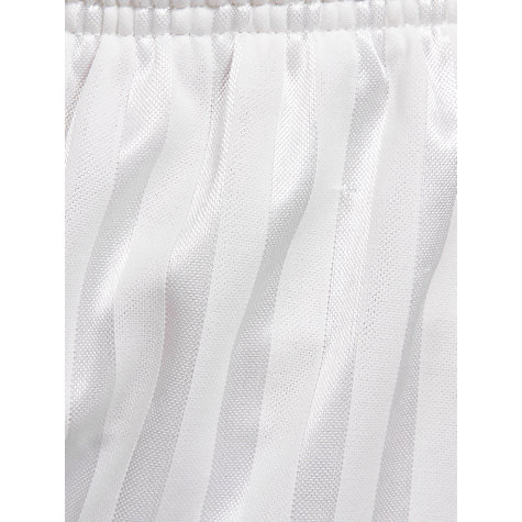 Buy John Lewis Football Shorts, White Online at johnlewis.com