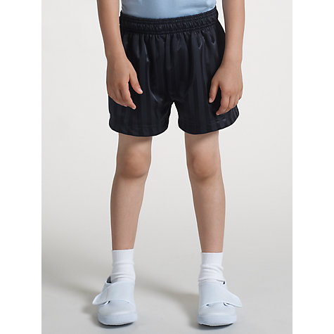Buy John Lewis Football Shorts, Navy Online at johnlewis.com