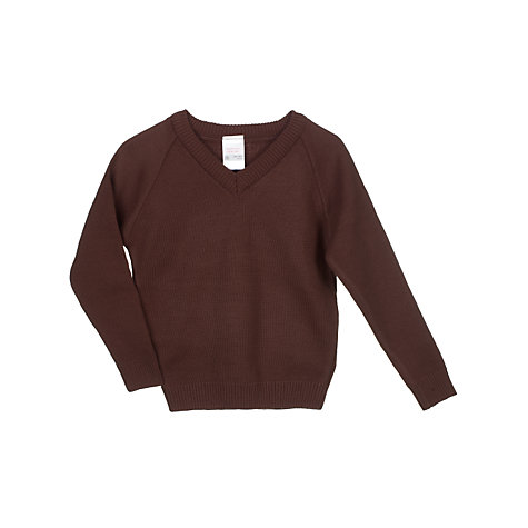 Buy John Lewis Unisex School Easy-Care Acrylic Jumper Online at johnlewis.com