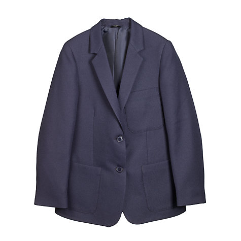 Buy John Lewis Girls' School Blazer, Navy Blue Online at johnlewis.com