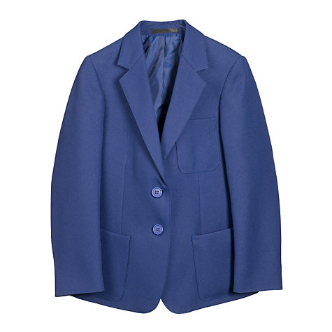 Buy John Lewis Girls' School Blazer, Royal Blue Online at johnlewis.com