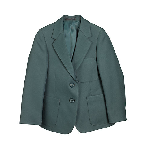 Buy John Lewis Girls' School Blazer, Bottle Green Online at johnlewis.com