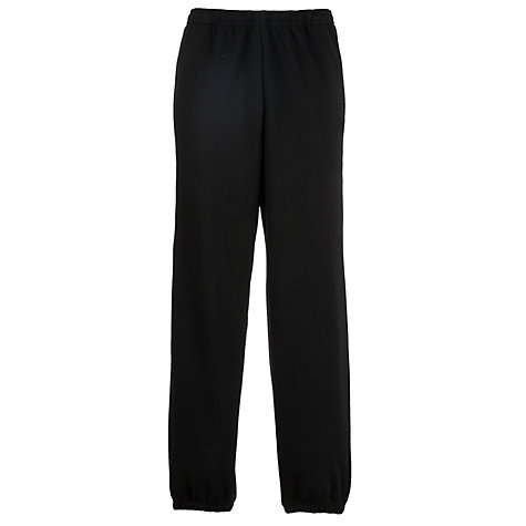 Buy John Lewis Jogging Trousers, Black Online at johnlewis.com