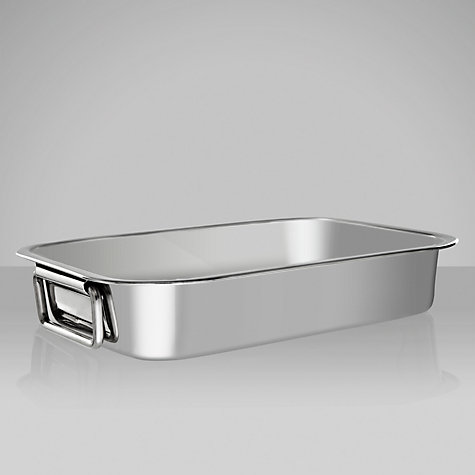 Buy John Lewis Stainless Steel Roasting Pans Online at johnlewis.com