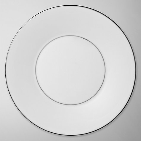 Buy Vera Wang for Wedgwood Blanc sur Blanc Plates Online at johnlewis.com