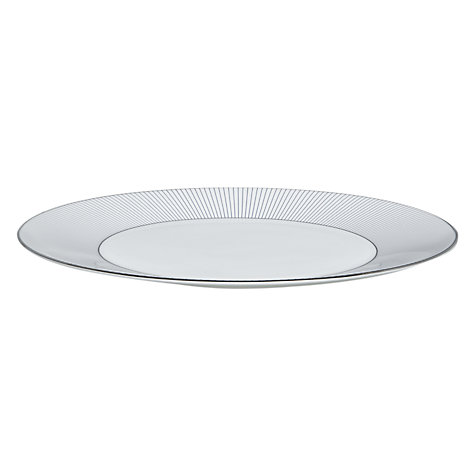 Buy Jasper Conran for Wedgwood Pinstripe Plate, Multi Online at johnlewis.com