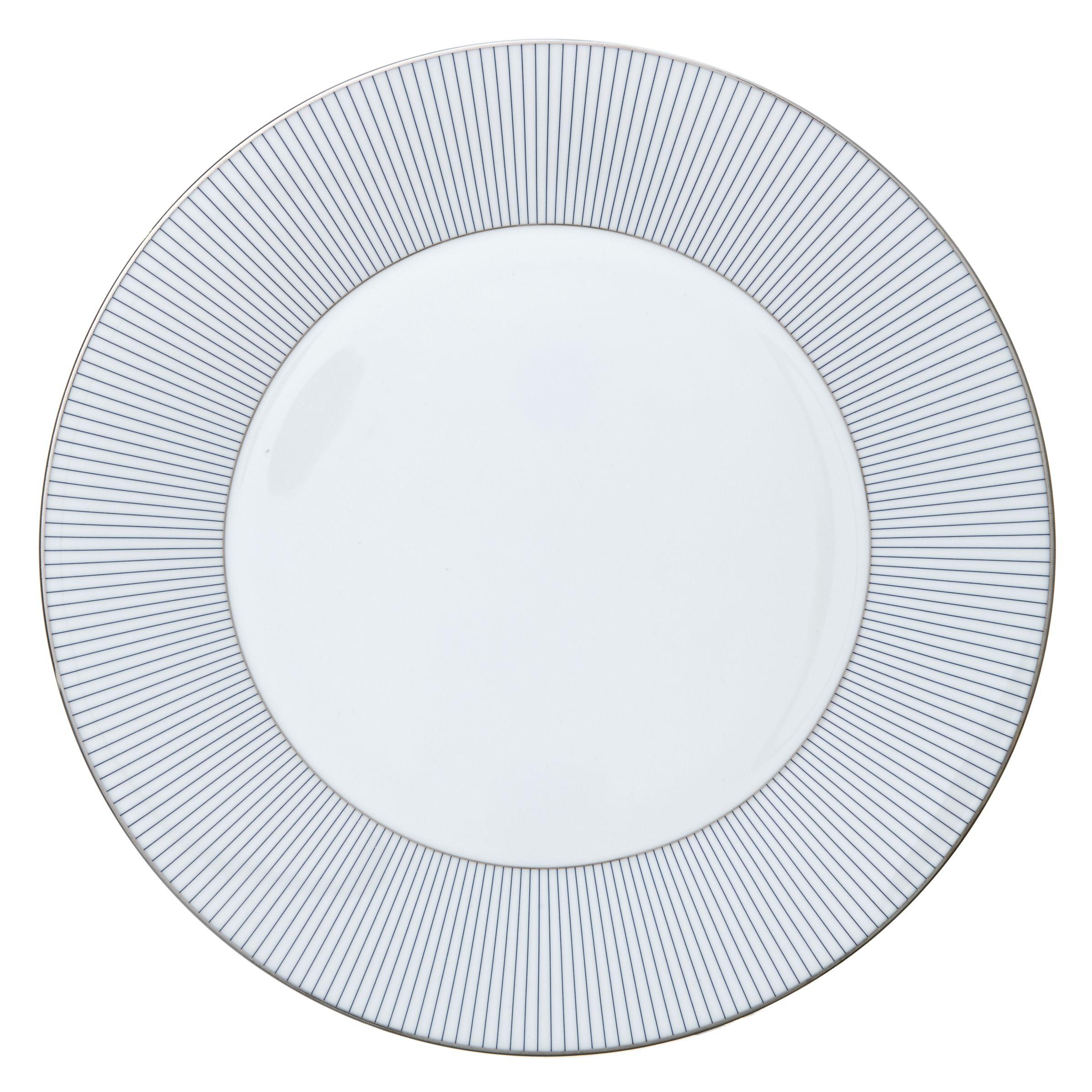 Jasper Conran Jasper Conran for Wedgwood Pinstripe Plate, Multi
