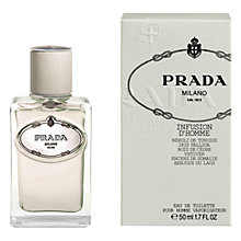 Buy Prada Infusion d'Homme Cologne Online at johnlewis.com