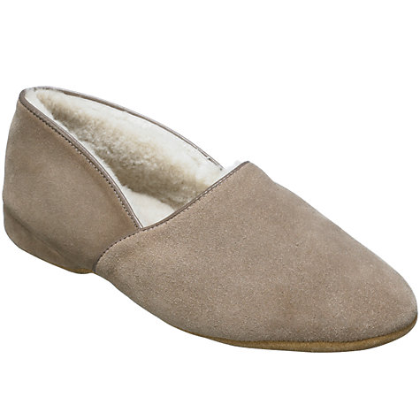 Buy Drapers of Glastonbury Anton Suede Slippers Online at johnlewis.com