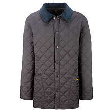 Buy Barbour Liddesdale Quilted Jacket, Navy Online at johnlewis.com