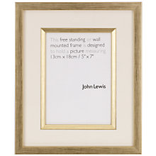 Buy Salisbury Frame, Gold Online at johnlewis.com