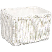Buy John Lewis Paper Rope Storage Baskets Online at johnlewis.com