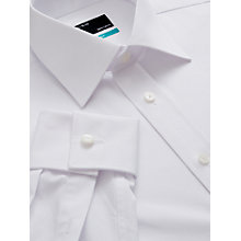 Buy John Lewis Pima Cotton Double Cuff Shirt Online at johnlewis.com