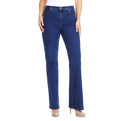 Buy NYDJ Bootcut Jeans, Black Online at johnlewis.com